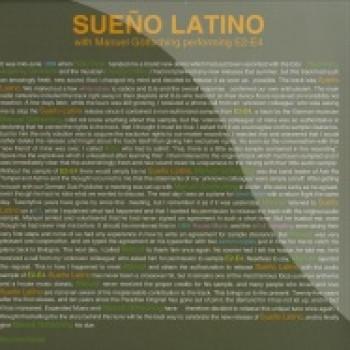 Sueno Latino WITH Manuel Göttsching  - Sueno Latino - Dance Floor Corporation